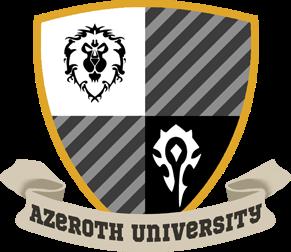 Azeroth University Logo