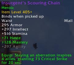 Insurgents Scouring Chain (Mail Belt)