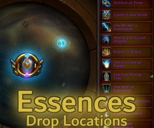 Essence Drop Locations – Quick Reference Guide