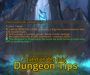 Questionably Epic: Addon updated for Shadowlands